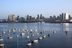 Stock Photography San Diego Skyline