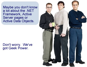 Full-scale development services for Desktop, Enterprise and Internet applications, leveraging the power of .NET technology
