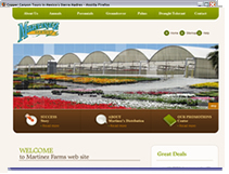 Martinez Farms San Diego Web Site
